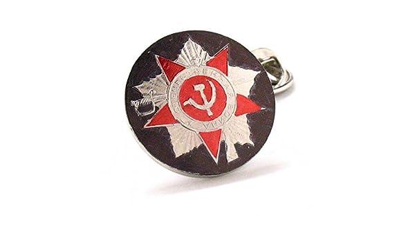 Pin de solapa, diseño ruso con escudo del sello imperial ruso ...