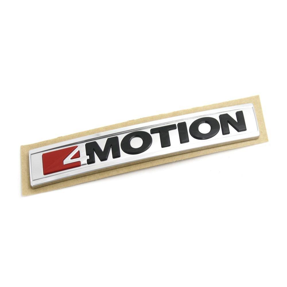 5G9853675AEMGM Schriftzug 4Motion Emblem Logo chrom schwarz Unbekannt