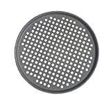 Yamde Nonstick Pizza Baking Plate 365 Indoor/Outdoor Large Pizza Pan, with holes,12-Inch offers