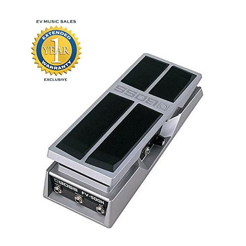 Boss FV-500H High-impedance Volume/Expression Pedal with 1 Year Free Extended Warranty (Boss Press)