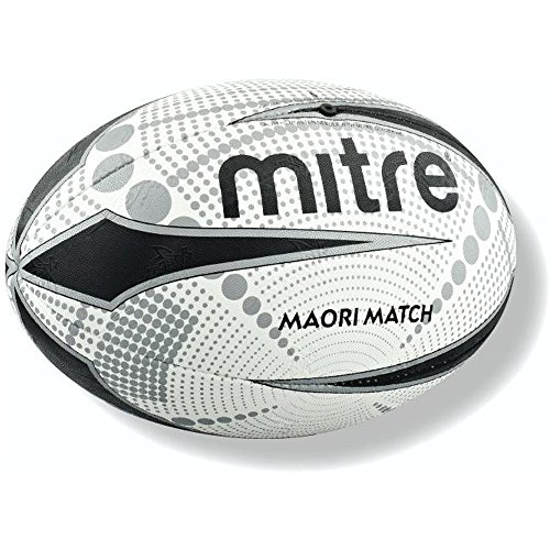 mitre Maori Match Rugby Ball - Size 4