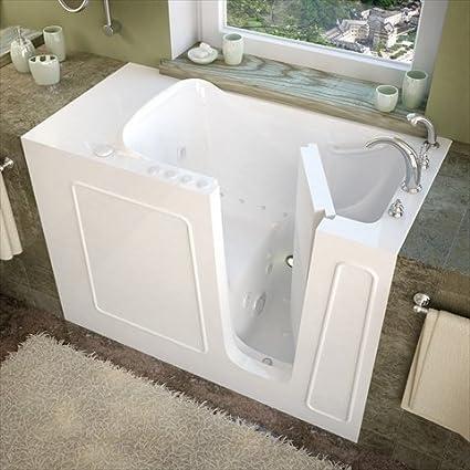 Therapeutic Tubs Santa Fe Whirlpool Bath Tub In White