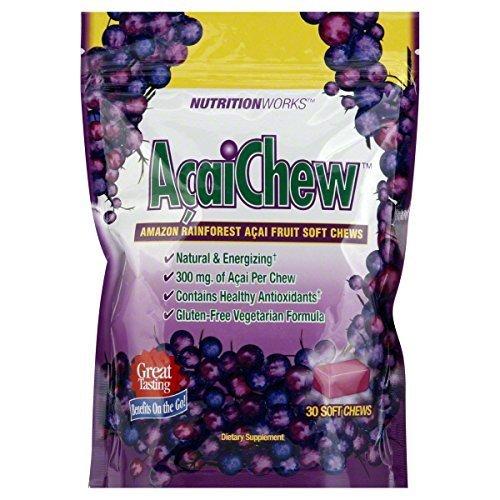 Nutrition Works Amazon Rainforest Acai Chews, 30-Count Bags