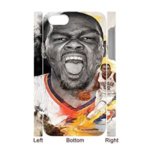 YUAHS(TM) Personalized 3D Hard Back Phone Case for Iphone 4,4S with Kevin Durant YAS128243