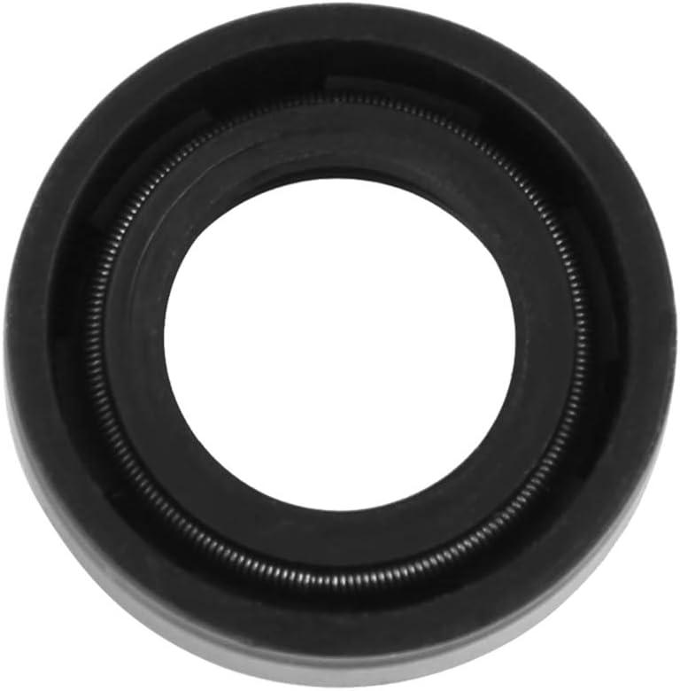 X AUTOHAUX 14mm X 24mm X 7mm Rubber Double Lip TC Oil Shaft Seal for Car