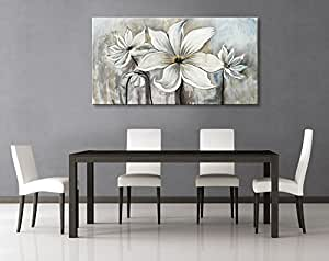 Seekland art hand painted canvas wall art for Dining room wall art amazon
