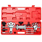 Orion Motor Tech Automotive 9-Way Slide Hammer Puller Set, Sliding Hammer, Carbon Steel T-Handle Attachments with Molded Storage Box