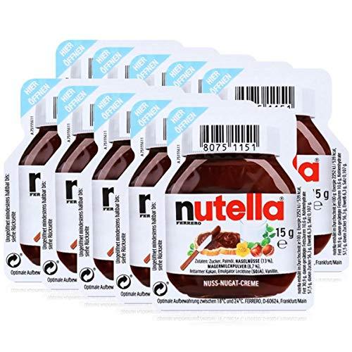 Nutella, Ferrero-Nutella, 10 x 15 g