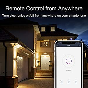 Smart Plug TanTan Mini Smart Socket Wifi Outlet, Work with Alexa and Google Home, No Hub Required, Remote Control your Devices, ETL and FCC Listed 3 Pack