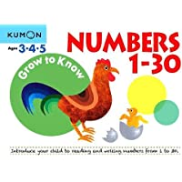 Grow to Know: Numbers 1-30: ( Ages 3 4 5) (Grow to Know Workbooks)