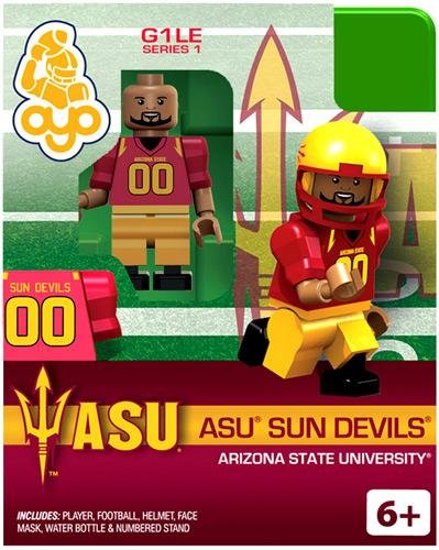 Arizona State University ASU Sun Devils College Football Oyo Mini Figure Lego Compatible Autorisée NCAA