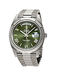 Rolex Day-Date Automatic 18 Carat White Gold President Mens Watch 228239GNSRP