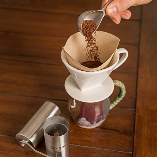 Coletti COL105 Coffee Scoop, 1 Tablespoon & 2 Tablespoon Set by Coletti (Image #6)