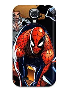 Tpu Shockproof/dirt-proof Spider Island Cover Case For Galaxy(s4)