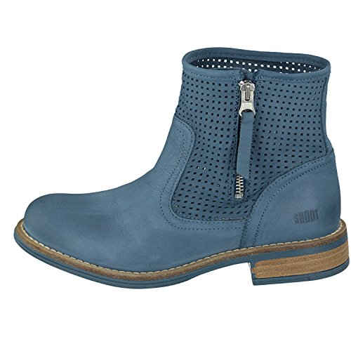 Shoot Damen Bootie blau 36