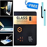 Premium Anti-Glare Shatter Proof Tempered Glass Screen Guard Protector for iPad Air / iPad Air 2 / iPad Pro (9.7 inch) With Free Stylus Pen (1 Pc Pack)