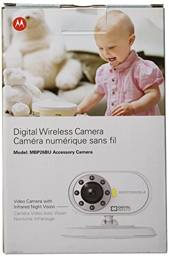 motorola additional camera for motorola mbp26 baby monitor baby video monit. Black Bedroom Furniture Sets. Home Design Ideas
