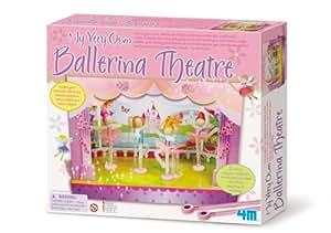 Great Gizmos GG4384 - My Very Own Ballerina Theatre, juego de creación de muñecas bailarinas