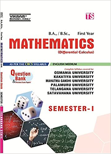 Buy TS-Sem-I-I-Bsc-Mathematics-(EM)-QB-2018 Book Online at Low