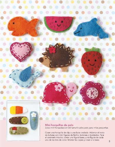 Muñecos y accesorios con fieltro / From Felt to Fabulous: Más de 30 proyectos con sus patrones / More Than 30 Projects With Its Patterns (Spanish Edition): ...