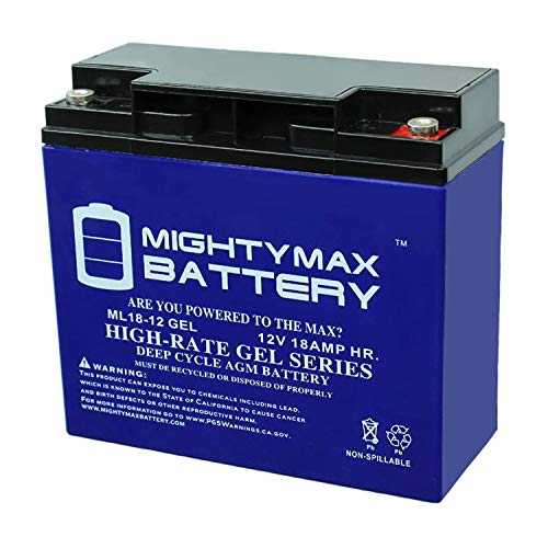 Mighty Max Battery 12V 18AH Gel Battery Replacement for Troy-Bilt 7000 Watt XP Generator Brand Product