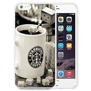 NEW Unique Custom Designed iPhone 6 Plus 5.5 Inch Phone Case With Starbucks Coffee Danboard Sugar_White Phone Case