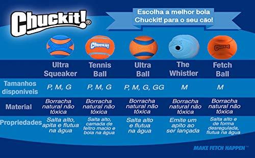 Chuckit! Tennis Ball, Orange, Small, Shrink Sleeve 2-Pack