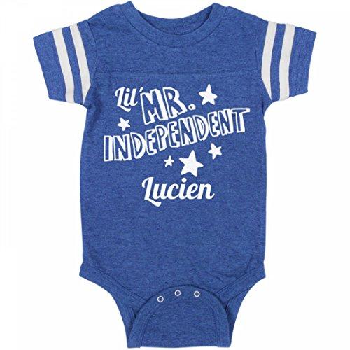 Price comparison product image Patriotic Lil Mr. Independent Lucien: Infant Rabbit Skins Football Bodysuit