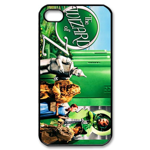 Fayruz- The Wizard of Oz Protective Hard TPU Rubber Cover Case for iPhone 4 / 4S Phone Cases A-i4K266