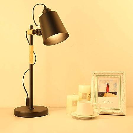 WZJ-TABLE LAMP Trabajo de Escritorio Moderno Lámpara de Mesa ...