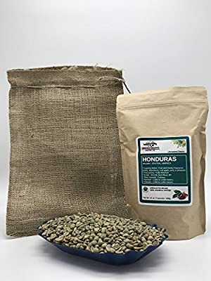 HONDURAS SAN ANTONIO Specialty-Grade, CURRENT-CROP Green Unroasted Coffee Beans – 100% Organic, Arabica Shade-Grown, Hand-Picked, Process: Washed & Sundried