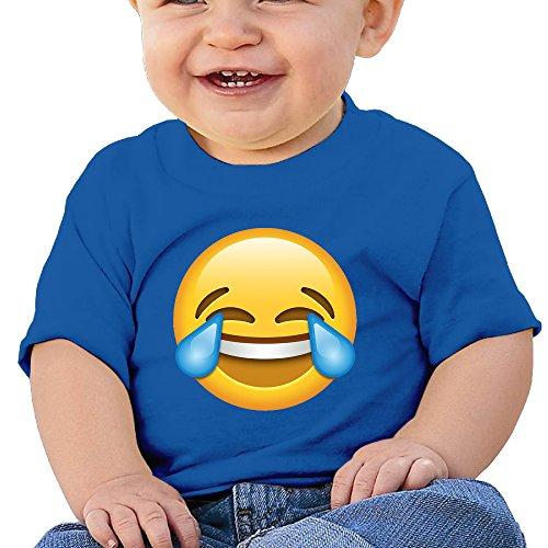 Emoji 6 - 24 Months Baby T-shirts Round Neck Shirt (Funniest Pet Costumes)
