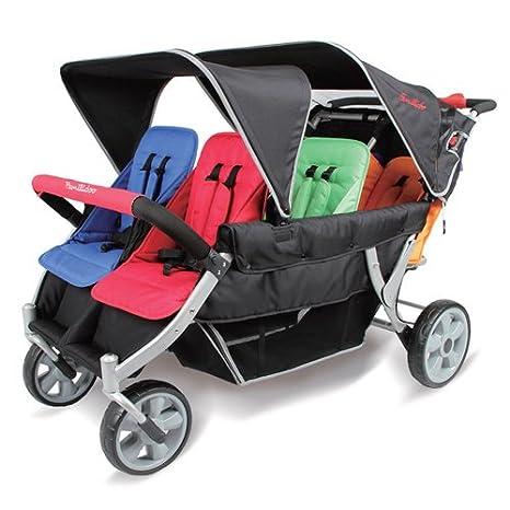 familidoo Heavy Duty carrito - 6 plazas: Amazon.es: Bebé