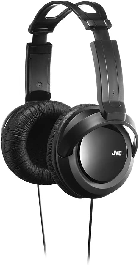 JVC Full Sized Over Ear Headband Over Ear Full Size Headband Black (HARX330)