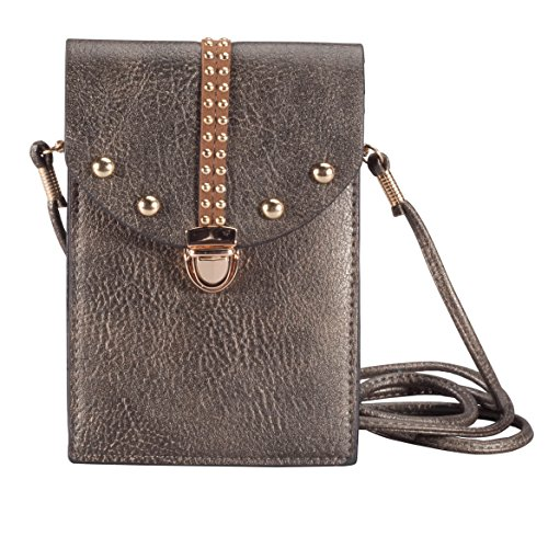 Pewter Touch Bag Touch Screen Crossbody Screen Pewter rPpr7