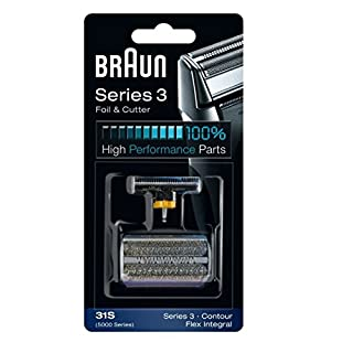 Braun Series 3 31S Foil & Cutter Replacement Head, Compatible with Previous Generation Series 3, Contour, Flex XP, and Flex integral (B001VEK1KI) | Amazon price tracker / tracking, Amazon price history charts, Amazon price watches, Amazon price drop alerts