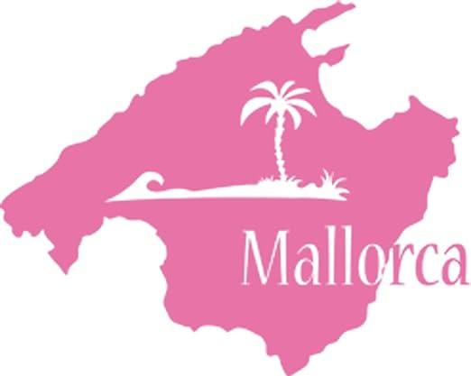 Graz Design Mapa Mallorca Decorativo para Pared, diseño de la ...