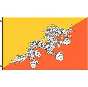 Estados Unidos Premium tienda Reino de bhután bandera 3x 5ft Banner dragón de bhután Tíbet budismo India Nepal
