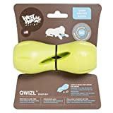NEW! West Paw Design Zogoflex Qwizl Guaranteed Tough Puzzle Treat Toy for Dogs, Small, Granny Smith