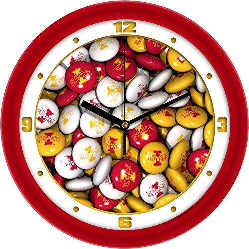 SunTime Iowa State Cyclones - Candy Wall - Wall Cyclones State Iowa Clock