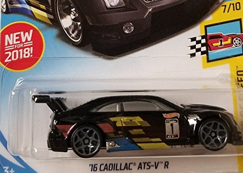 Hot Wheels 2018 50th Anniversary Legends of Speed '16 Cadillac ATS-V R 70/365, Black