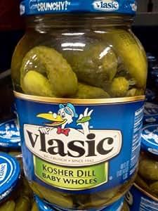 Amazon Com Vlasic Kosher Dill Baby Whole Pickles 46 Oz
