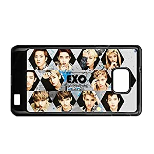 Print With Exo 1 Hard Plastic Phone Cases For Child For S2 I9100 Galaxy Samsung Choose Design 2