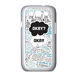 Cyber Monday Store Customize Samsung Galaxy S3 I9300 Back Case The Fault in Our Stars JNS3-1401