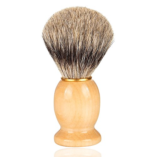 Superior Quality Men's Shaving Brush Natural Badger Hair Shaving Foam Latherer