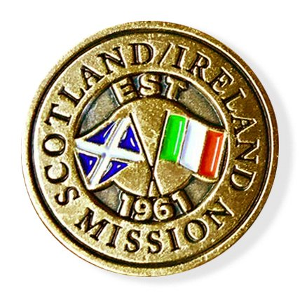 LDS Scotland/Ireland Mission Commemorative Lapel ()