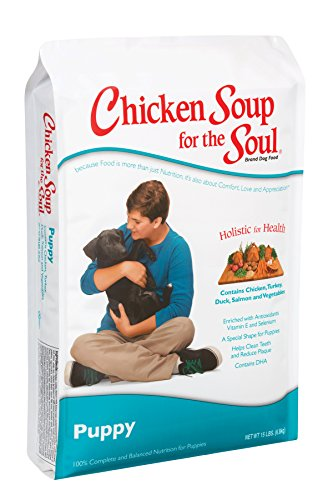 Chicken Soup for the Soul Puppy Food- Chicken, Turkey & Brown Rice Recipe, 30 lb
