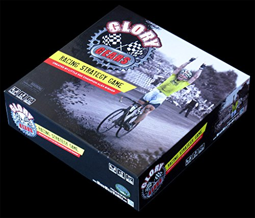 Glory Gears Racing Strategy Cycling Board Game