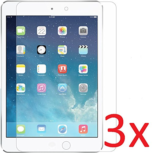(eTECH Collection 3 Pack of Clear Screen Protector for Apple iPad Air/iPad Air 2 (fits both iPad Air and iPad Air 2nd Generation) - From USA)