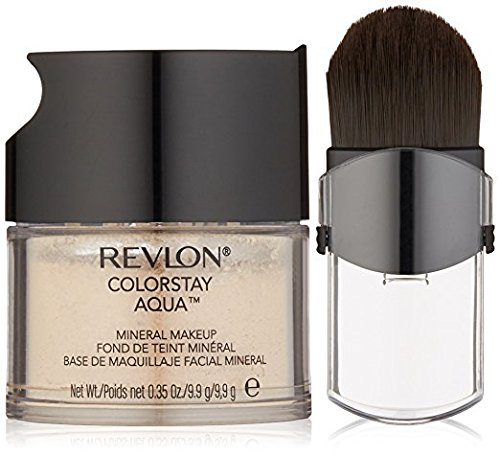 Revlon Makeup Mineral (Revlon Colorstay Aqua Light Medium/Medium Mineral Makeup - 2 per case.)